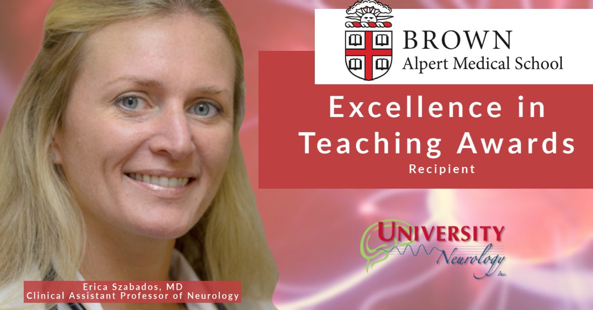 Dr. Erica Szabados Excellence in Teaching Award Recipient